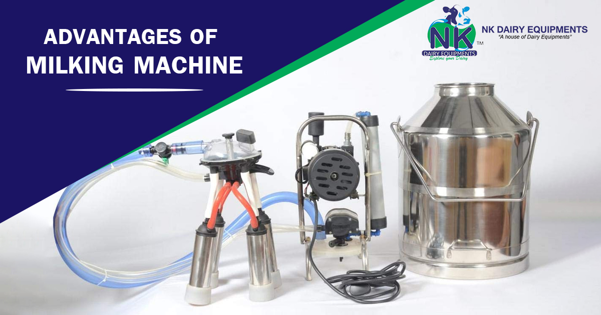 Advantages of milking machine