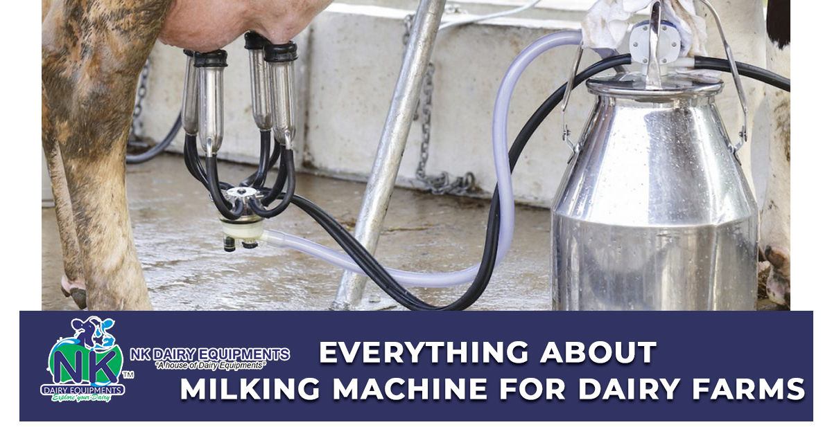 Everything About Milking Machine for dairy farms