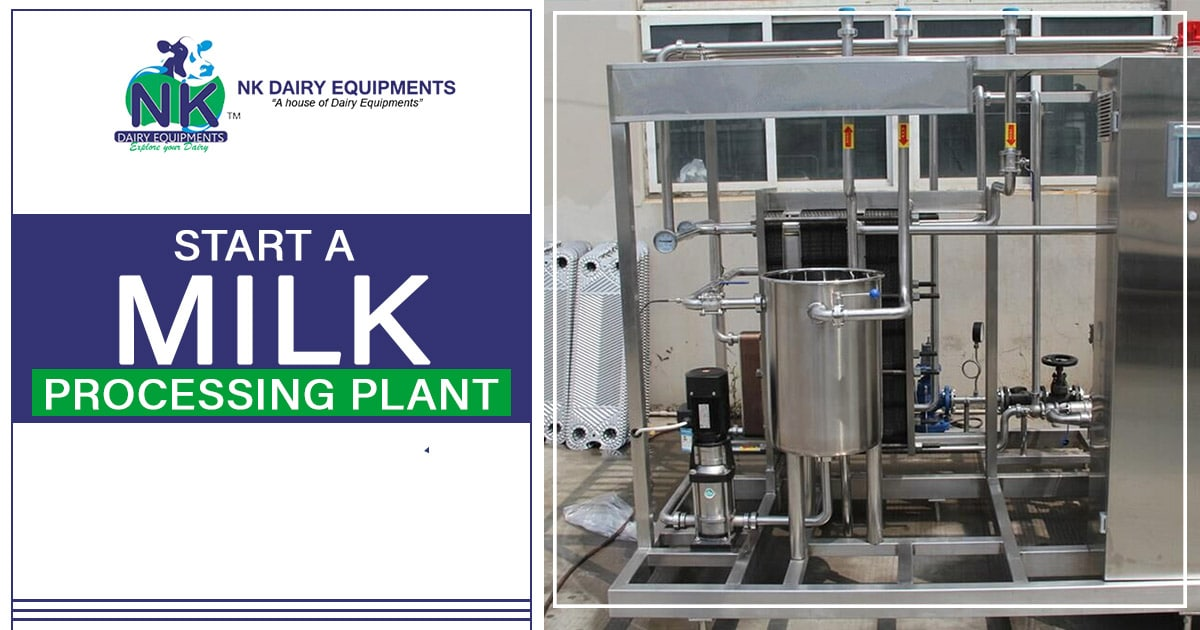 Start a milk processing plant