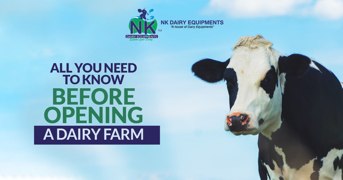 Here are the things you need to know before opening a dairy farm