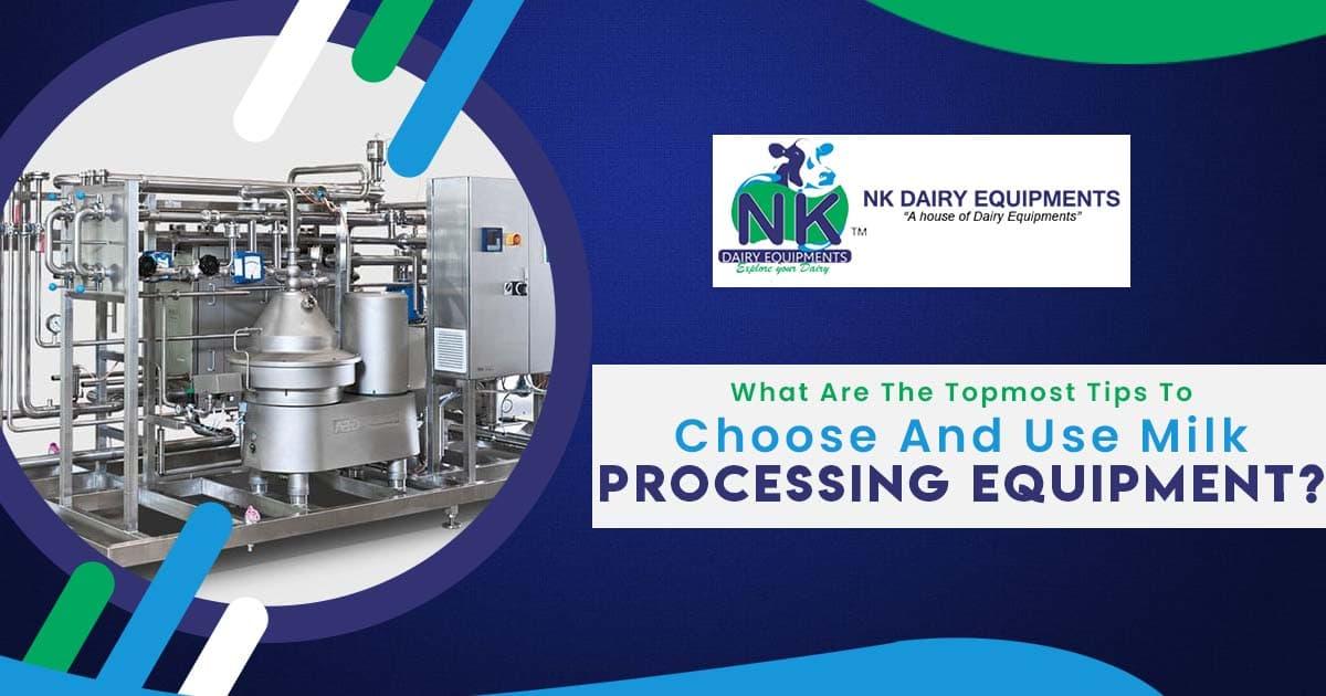 milk processing equipment