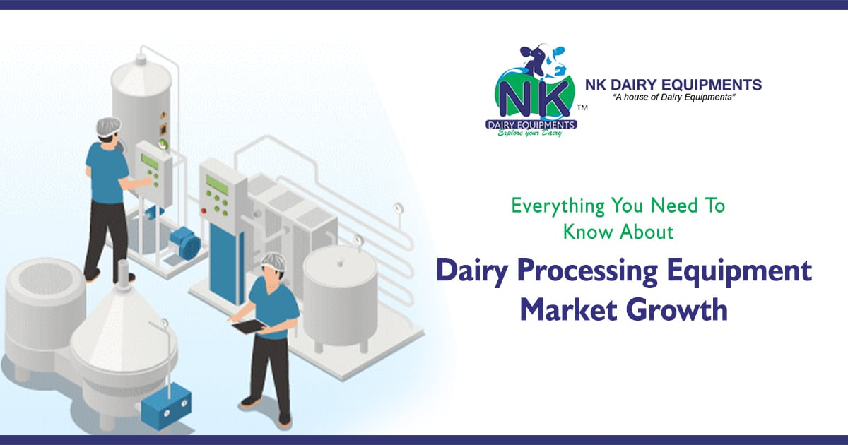 Dairy Processing Equipment Market Growth