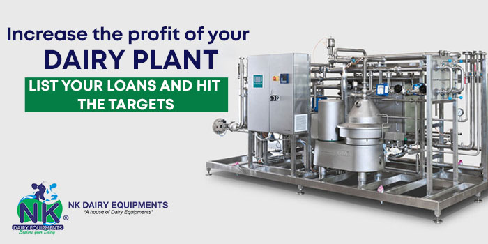 Increase the profit of your dairy plant - list your loans and hit the targets