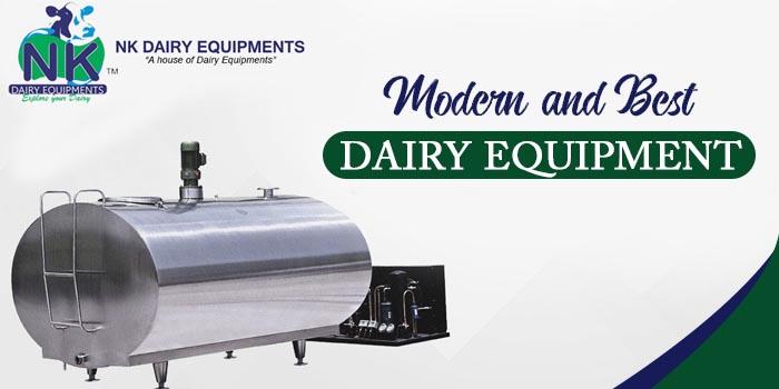 Modern and Best dairy Equipment 2021